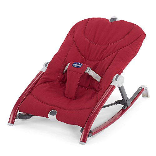 Chicco Pocket Relax - Hamaca ultracompacta y ligera, hasta 9 kg, colección 2017, color rojo